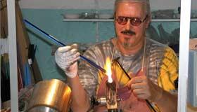 Glasgestalter und Kunsthandwerker