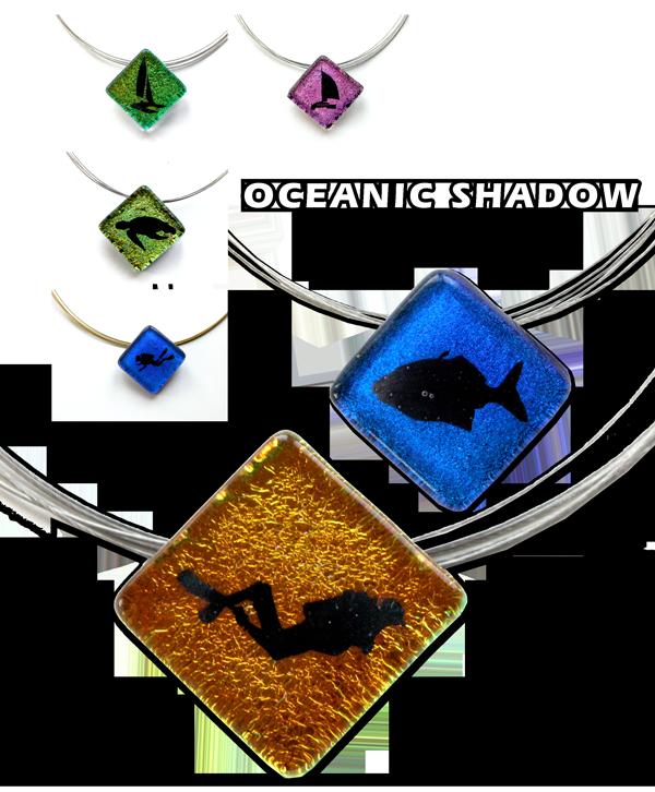 Glasschmuck mit Symbolen